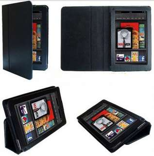 1X Stand Folio PU Leather Case Cover For  Kindle Fire 7 Tablet