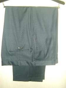 Mint HICKEY FREEMAN LTD Blue Suit Pant Blazer Jacket 44R