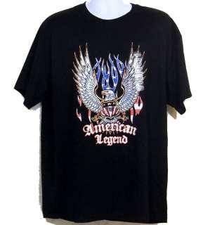 Shirt American Legend Eagle Biker Motorcycle XL