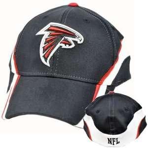 Red White Team Colors Flex Fit Small Medium Cap Hat