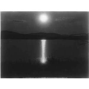 Little Tupper Lake,Adirondacks,c1888,New York,N.Y.,moon