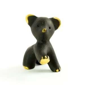 Walter Bosse Brass Stretching Bear Figurine