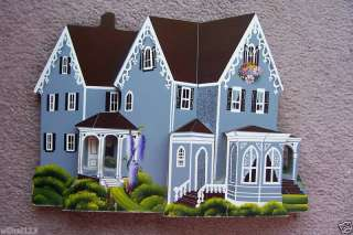 HAND MADE WOOD HOUSE PAINT & CARVING ART SCULPTURE