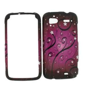 HTC SENSATION (T Mobile) PINK SWIRLS Hard Case/Cover