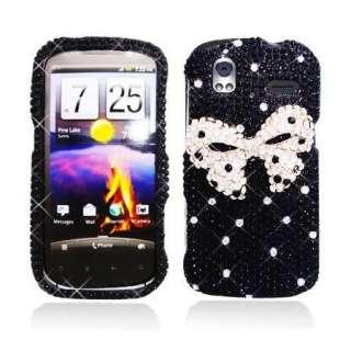 DIAMOND Rhinestone BLING Case for T  Mobile HTC AMAZE 4G Jewel