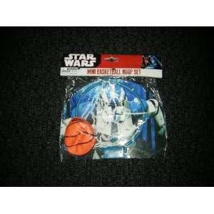 Star Wars Mini Basketball Hoop Set (Novelty) Toys & Games