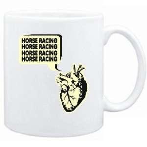 New  My Heart Says  Horse Racing  Mug Sports