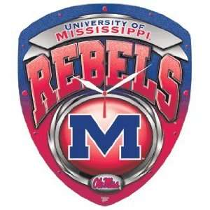 NCAA Ole Miss Rebels High Definition Clock