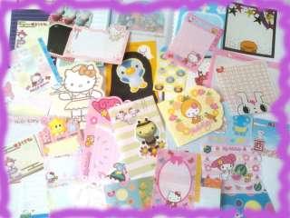 Hello Kitty Melody Disney Stationery/Stationary Memos/Note
