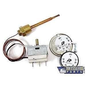Thermostat, Panel Mount 302 deg. F