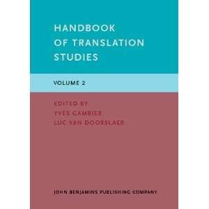 9789027203328) Prof. Dr. Yves Gambier, Luc van Doorslaer Books