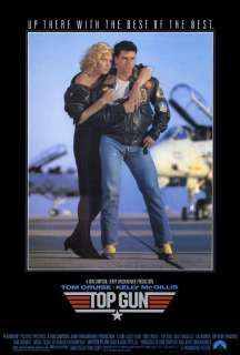 Top Gun 11 x 17 Movie Poster, Tom Cruise, McGillis, B