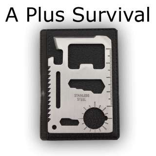 10 Functions in 1 Credit Card Size Multi Survival Tool