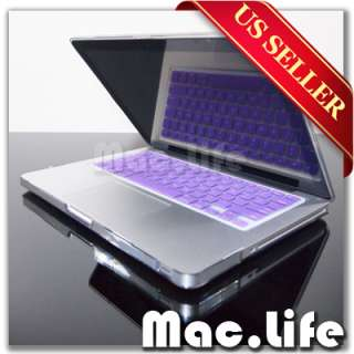 PURPLE Silicone Keyboard Skin Cover for NEW Macbook Pro