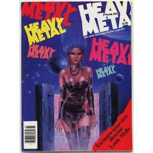 Heavy Metal March 1985 Various  Books