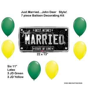 John Deere like Bridal Wedding Shower Just Married