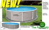 18ft Round Above Ground Swimming Pool Package