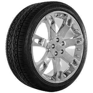 22 Inch Chrome 25 Series Wheels Rims and Tires for Land