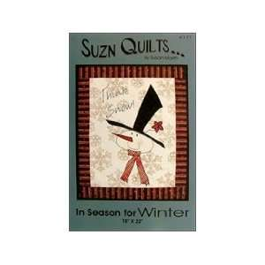 Suzn Quilts In Season for Winter Ptrn Arts, Crafts