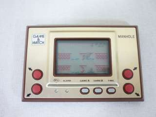 Nintendo Game & Watch MANHOLE MH 06 Boxed Import JAPAN Video Game 0912