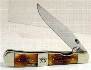 CASE XX REGAL STAG TRAPPERLOCK WITH CENTER BOLSTER #72115