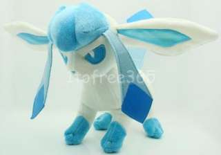 Pokemon New 8.5 Anime Glaceon Plush Toy Doll PB13