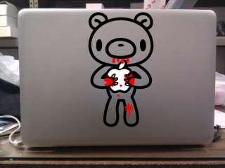 GLOOMY BEAR Anime MacBook Decal Bumper Sticker