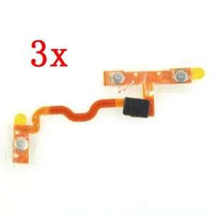 Neewer 3x Volume Power Button Ribbon Flex Cable For iPod Touch