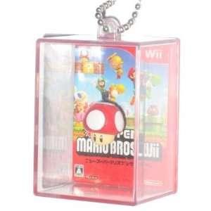 Super Mario Bros. Figure In Box Mushroom Keychain Toys & Games