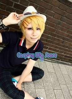 Uta no Prince sama Sho / Syou Kurusu Short Cosplay Blonde Hair Wig