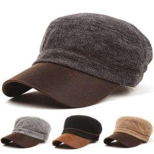 New Army Cadet Military Vintage Newsboy CAP HAT 408k
