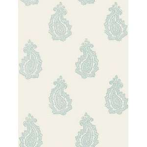 Schumacher Sch 5005302 Madras Paisley   Water Blue