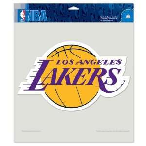 Los Angeles Lakers 8x8 Die Cut Full Color Decal Made in