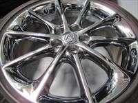 four 2012 Lexus CT200h Factory 17 Chrome Wheels Tires OEM Rims Corolla