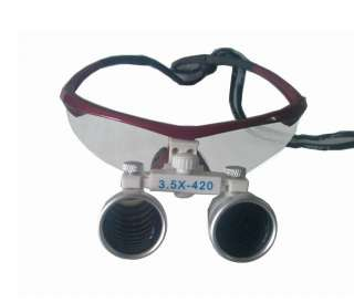 2012 New Design 3.5 X Dental Surgical Binocular Loupes Dentist 420mm