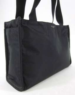 KATE SPADE Black Abigail Nylon Tote Diaper Bag Handbag