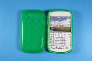 3x BlackBerry Bold 9780 Gel Skin Case +Screen Protector