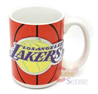 NBA Los Angeles Lakers Mug Collectible Ceramic Logo Cup