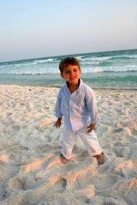 Kellys Kids blue gingham shirt & white shorts beach Easter 2 2t