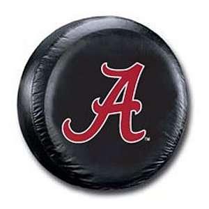 Alabama Crimson Tide Black Tire Cover