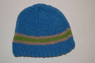Ecuador Hand Knit Wool Hat Ski Snowboard Beanie Cap