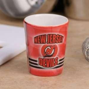 New Jersey Devils Red Slapshot Ceramic Shot Glass  Sports