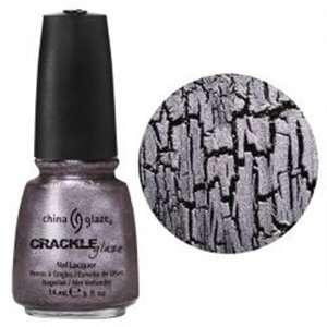 China Glaze Nail Polish Lacquer Metal Crackle Latticed Lilac # 80764