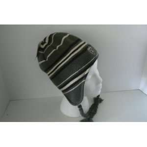 NFL Oakland Raiders Braided Knit Beanie Hat Ski Skull Cap