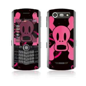 Pink Screaming Crossbones Decorative Skin Decal Cover
