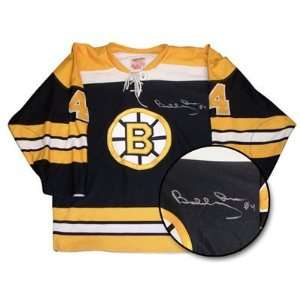 Boston Bruins NHL Hand Signed Authentic Style Away Black Hockey Jersey
