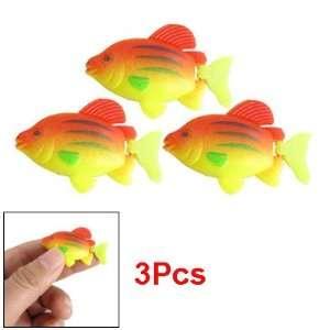Como Aquarium Fish Tank Landscaping Plastic Fish Decor 3