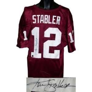 Ken Stabler Autographed/Hand Signed Alabama Crimson Tide