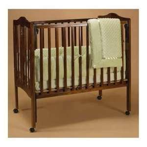 Green Heavenly Soft Portable Crib Bedding Baby