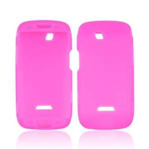 Pink Silicone Skin Case Cover For Samsung Sidekick 4G